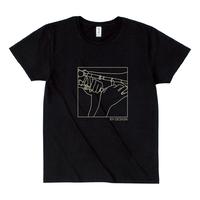 Look at hand T-shirts Trombone Black