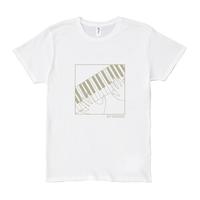Look at hand T-shirts Piano White
