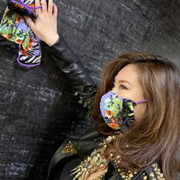 I SPARK  Mask(立体マスク) I-6  PAサファリxBKレース