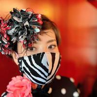 I SPARK  Mask(立体マスク) I-13   ゼブラxドット切り替え