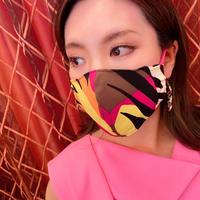 I SPARK  Mask(立体マスク) I-22  マルチxヒョウ柄切り替え