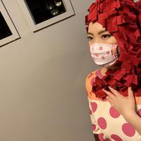 I SPARK  Mask(プリーツマスク) I-9 WHxPIドットレース