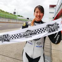 2019 鈴鹿8時間耐久ロードレース TransMapRacing with ACE CAFE 応援グッズ マフラータオル