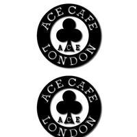 N015DE/ACE CAFE LONDON デカール サークル 50 (2枚入)