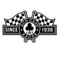 N019DE/ACE CAFE RACER デカール・Racer Flag