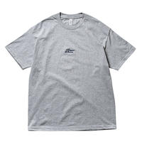 DOGEAR RECORDS TEE (Gray × Navy)