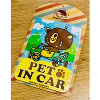 カーマグネット [PET IN CAR]