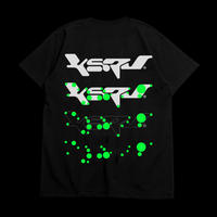 "KERV logo tee 01 ""NEON GREEN"" - GUCCIMAZE"
