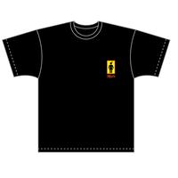 Maxn 女子トイレ Tシャツ(ブラック)