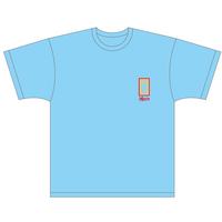 Maxn 女子トイレTシャツ(スカイ)