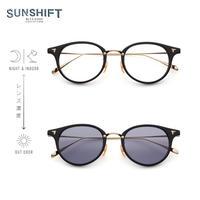 SUNSHIFT® / S-C510N  1-1 ブラック-ゴールド(SUNSHIFT®レンズ:クリア⇄グレー)