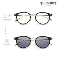 SUNSHIFT / S-C510N  1-1 ブラック-ゴールド(SUNSHIFTレンズ:クリア⇄グレー)