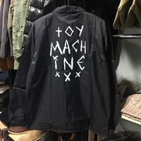 (トイマシーン)toy machine '19年春夏新作 SECT EYE COACH JACKET コーチジャケット(TMP19JK7-BK)