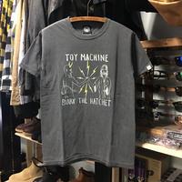 (トイマシーン)toy machine '19年春夏新作 BURY THE HACHET ピグメント加工 半袖Tシャツ (TMS19ST18-CCL)