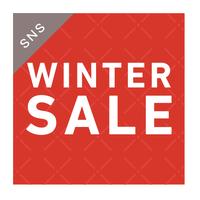 SNS素材|2サイズセット 冬セール[A]