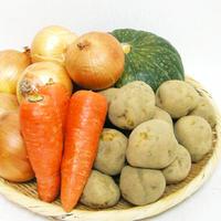 【北海道産】 じゃがいも・たまねぎ・人参・かぼちゃ 野菜の詰め合わせ 約5kg