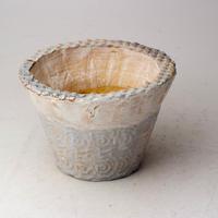 陶器製 多肉植物の欲しがる植木鉢 IBSc-2923ブルーグリーン