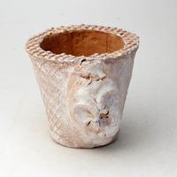 陶器製(2.5号ポット相当) スカル鉢-  2066