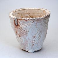 陶器製(4号ポット相当)多肉植物の欲しがる植木鉢 OPLL-7764