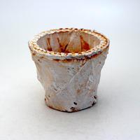陶器製(2.5号ポット相当)多肉植物の欲しがる植木鉢 OPS-8906