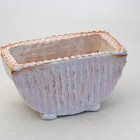 陶器製 多肉植物の欲しがる植木鉢 HMc-8460ピンク