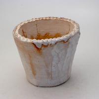 陶器製(3号ポット相当)多肉植物の欲しがる植木鉢 SMM-8942