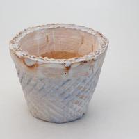 陶器製(3号ポット相当)多肉植物の欲しがる植木鉢 SMMc- 9691ブルー