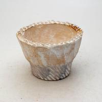 陶器製 多肉植物の欲しがる植木鉢 IBSc-9417ブルー