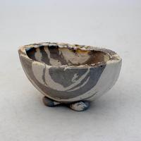 陶器製 多目的自由な植木鉢 CVc-ミカゲ-8829グレー