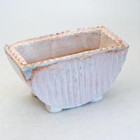 陶器製 多肉植物の欲しがる植木鉢 HMc-8463ピンク