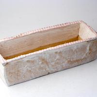 陶器製 多肉植物の欲しがる植木鉢 AEMc-2993ピンク