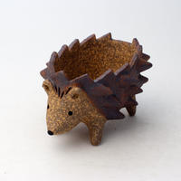 泰木窯 陶器製 ハリネズミ鉢 1115-4