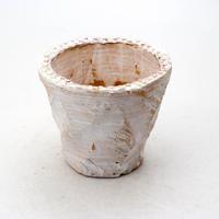 陶器製(2.5号ポット相当)多肉植物の欲しがる植木鉢 OPS-7082