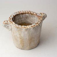 陶器製(2号ポット相当)多肉植物の欲しがる植木鉢 SSSd-2821