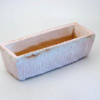 陶器製 多肉植物の欲しがる植木鉢 AEMc-8459ピンク