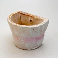 陶器製 多肉植物の欲しがる植木鉢 HPc-9421ピンク