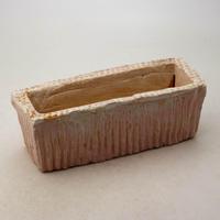 陶器製 多肉植物の欲しがる植木鉢 AEEc-8663ピンク