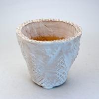 陶器製(3.5号ポット相当)多肉植物の欲しがる植木鉢 OPL-8714