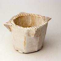 植木鉢 陶器(2-2.5号ポット相当)多肉植物の欲しがる植木鉢 KEMd-2214