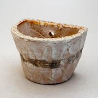 陶器製 多肉植物の欲しがる植木鉢 HPc-9419グリーン
