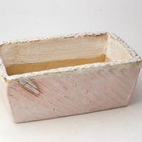 陶器製 多肉植物の欲しがる植木鉢 AES(Ⅰ)c- 1786ピンク