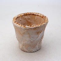 陶器製(2号ポット相当)多肉植物の欲しがる植木鉢 OPSS-8385
