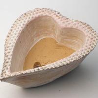 陶器製 多肉植物の欲しがる植木鉢-ときめき A深cd-4526ピンク