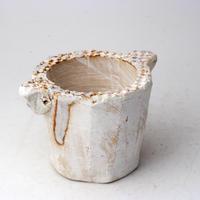 陶器製(2号ポット相当)多肉植物の欲しがる植木鉢 SSSd-3009