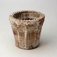 陶器製(2号ポット相当)多肉植物の欲しがる植木鉢 AAM-  2073