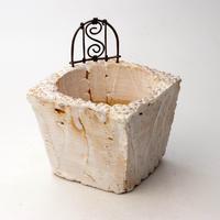 陶器製(3号ポット相当)多肉植物の欲しがる植木鉢 KKMd-箱庭-5920