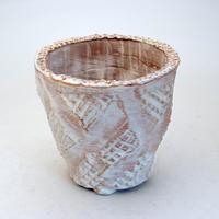 陶器製(3.5号ポット相当)多肉植物の欲しがる植木鉢 OPL-8716