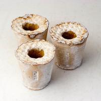 陶器製(カット苗スタンド)多肉植物の欲しがる植木鉢 BS小3個セット