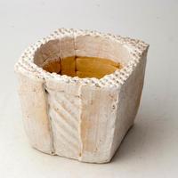 陶器製(3号ポット相当)多肉植物の欲しがる植木鉢 KKMd-2107