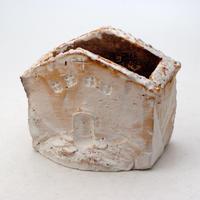 陶器製 多肉植物の欲しがる植木鉢  ハウスB-8244